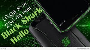 Xiaomi Black Shark Hello Smartphone pertama di dunia dengan RAM  Xiaomi Black Shark Hello