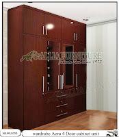 Lemari tipe unit cabinet minimalis Aero