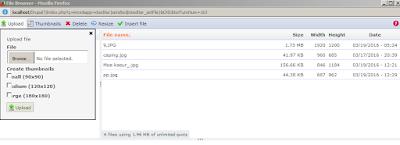Plupload belum terpasang/belum aktif