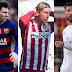 Liga de dois: Atlético perde, e Barcelona e Real disputarão o título na última rodada