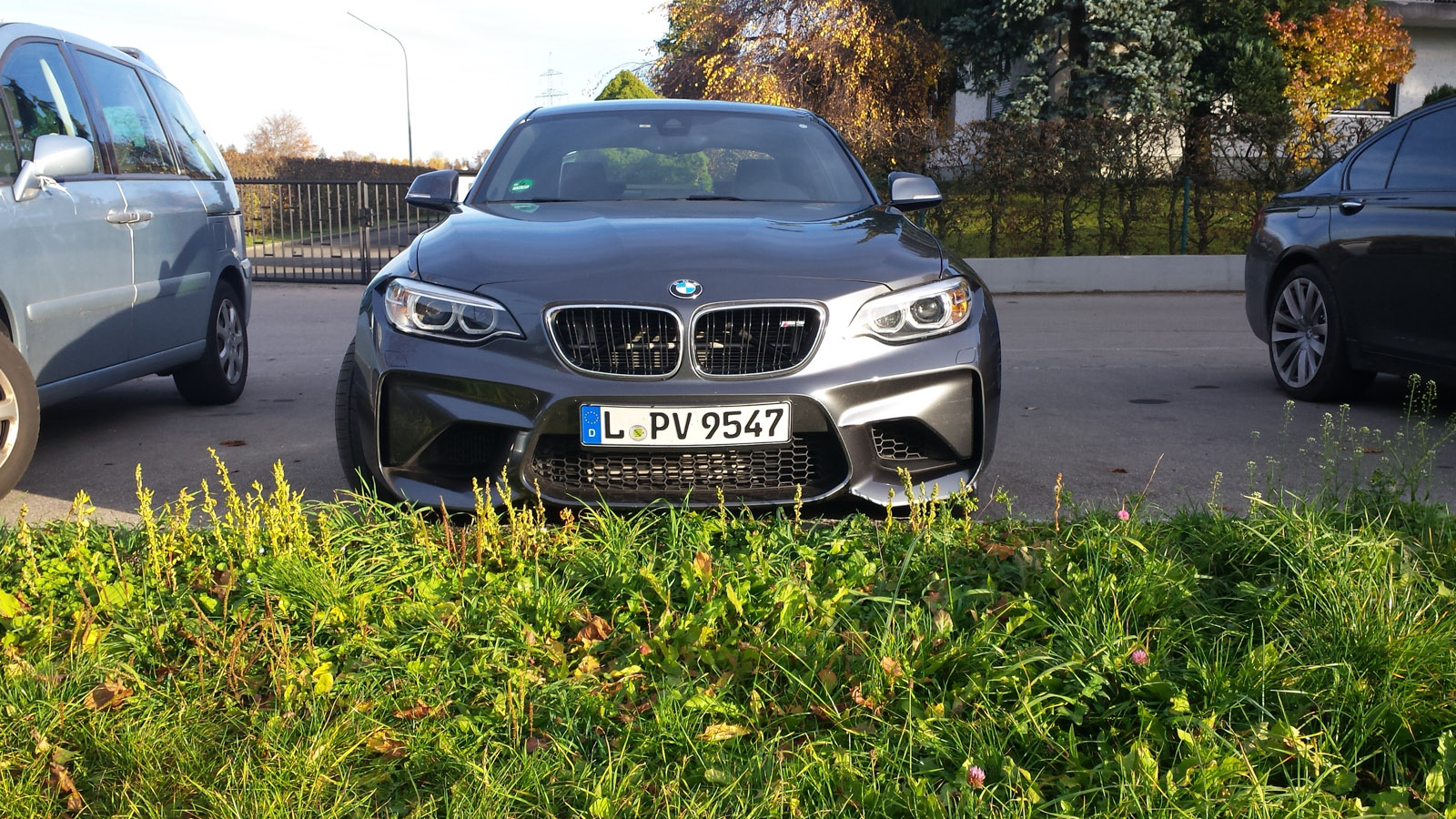 First Shots Of Bmw M2 In Mineral Grey Wearing Terrible