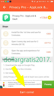 Cara Dapat 1$ - $5 Dollar Setiap Hari di Android Dengan LuckyCash