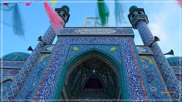 Ziarat-e Sakhi ou Sakhi Shine, a mesquita azul de Cabul