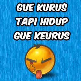 DP Gue Kurus Tapi Hidup Gue Keurus