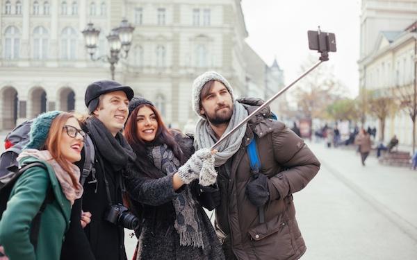 Selfie dengan Tongsis