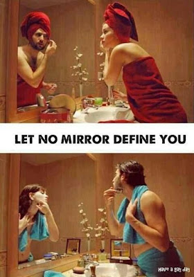 Let no mirror define you - TG Captions and more - Crossdressing and Sissy Tales and Captioned images