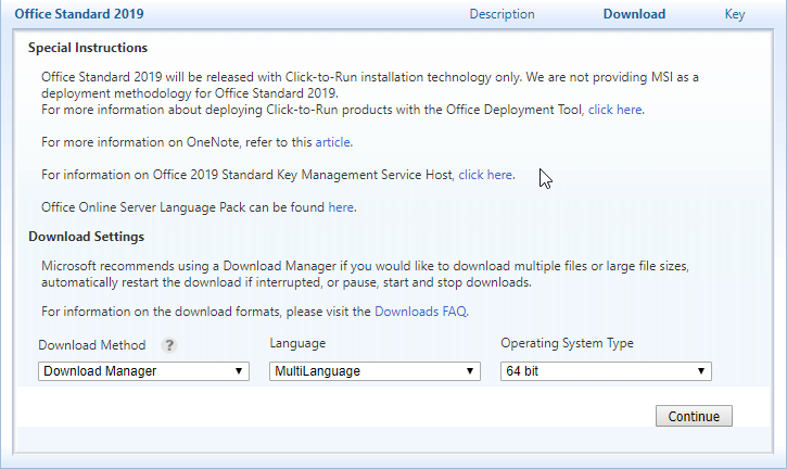 The OptionKey Blog: How to install Office using the Office