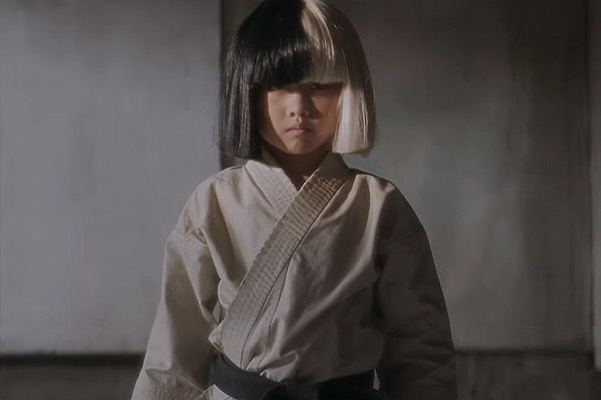 Mahiro Takano new star of the clip of the singer Sia