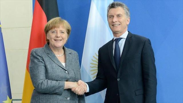 Macri y Merkel confían en un acercamiento entre la UE y Mercosur
