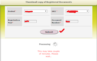 Step 3: Download Registration Document in Online