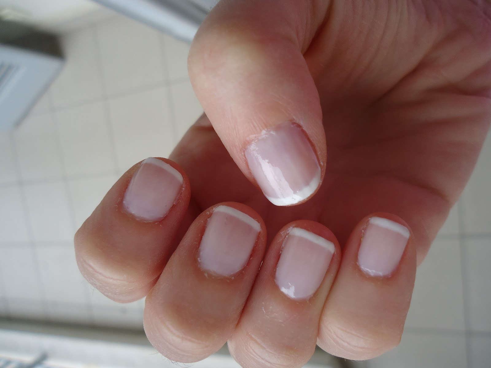 Jojo S Nail Musings And More Standard French Manicure