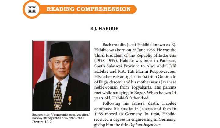 Jawaban Paket Bahasa Indonesia Kurikulum 2013 Edisi Revisi 2017 Hal 153 Tugas