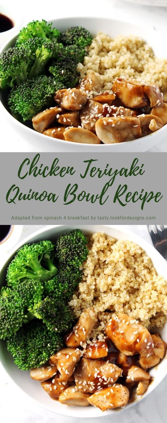 Chicken Teriyaki Quinoa Bowl Recipe