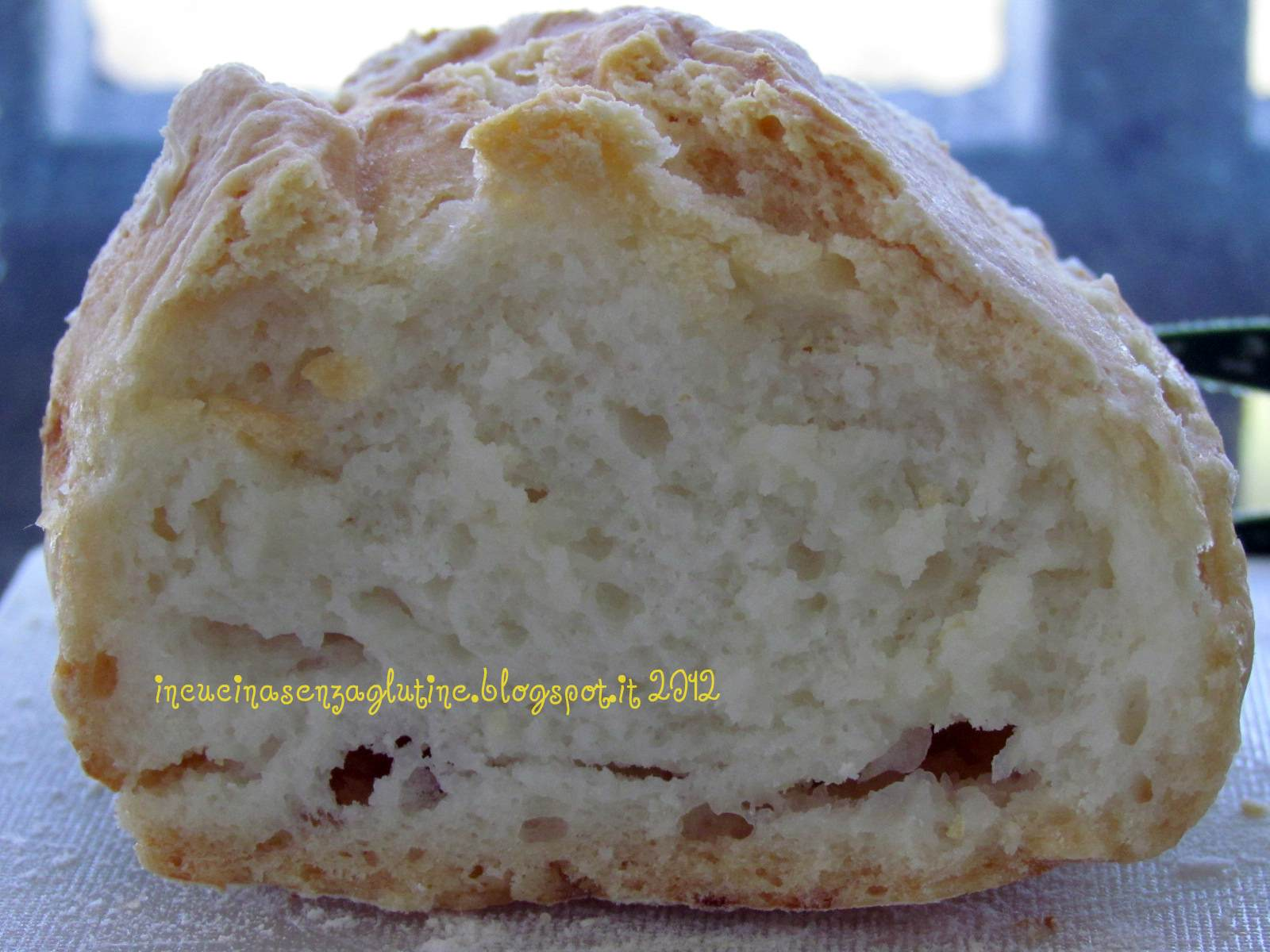 Eccezionale In cucina senza glutine : pane con farine naturalmente senza glutine AA26