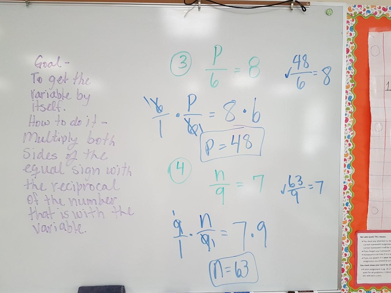 Common Core Algebra I