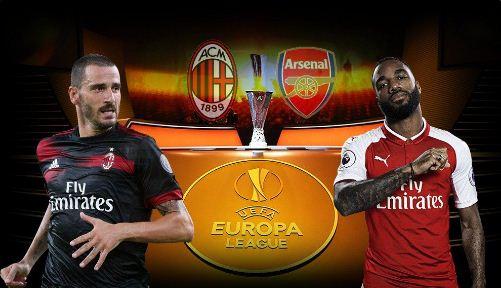 Head to Head Milan vs Arsenal