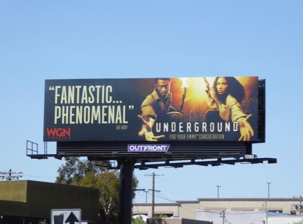 Underground 2017 Emmy FYC billboard