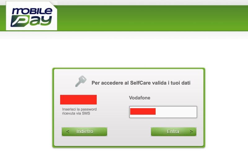 login selfcare disattivazione abbonamento mobile passion