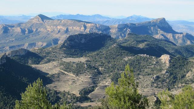 Serra del Sit. . El Maigmó
