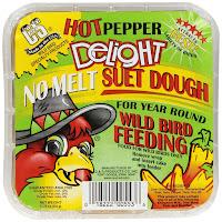 Squirrel proof suet bird food