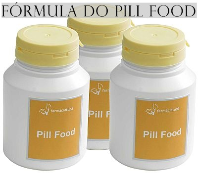 fórmula do pill food