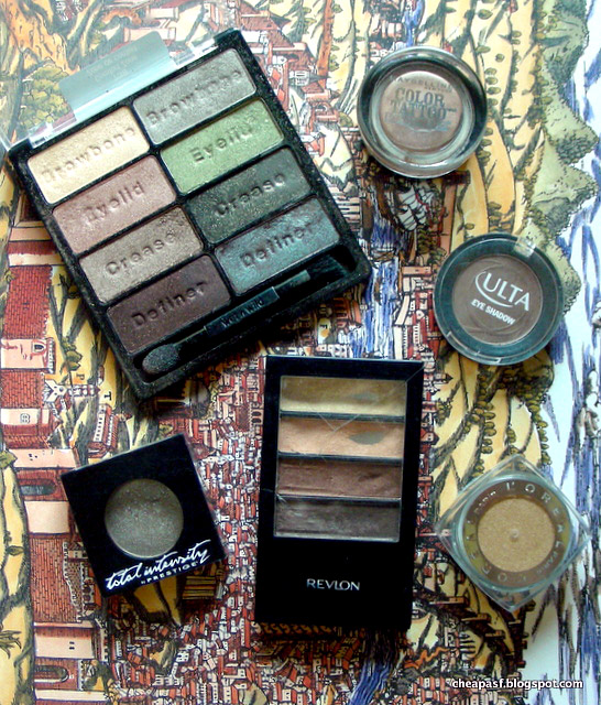 My cheap favorites: eyeshadow under $10
