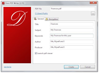برنامج, مميز, لصناعة, وإنشاء, مستندات, بى, دى, اف, Doro ,PDF ,Writer