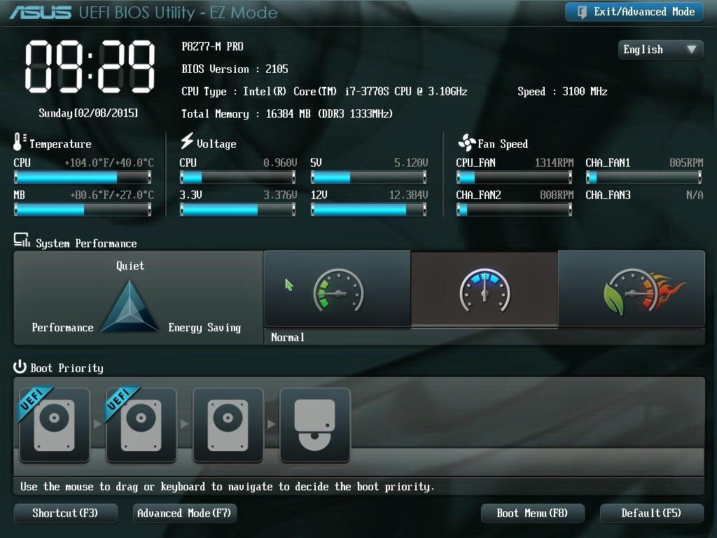 Windows 10をUEFIモードでインストール | UEFI BIOSの設定とクリーン ...