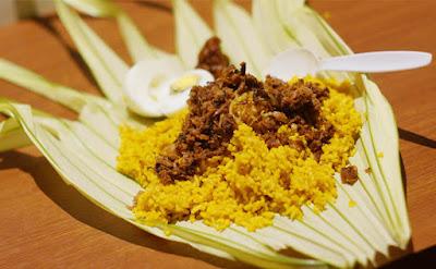 nasi kuning saroja halal