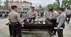Jelang Pilkada Di Kalbar, Polres Sekadau Cek Sarana Prasarana Serta Ranmor Dinas