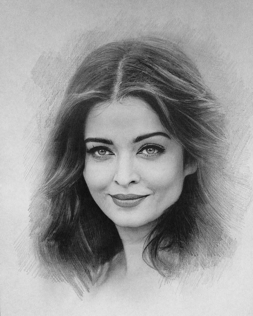03-Aishwarya-Rai-Berikuly-Erkin-Very-Expressive-Realistic-Portraits-www-designstack-co