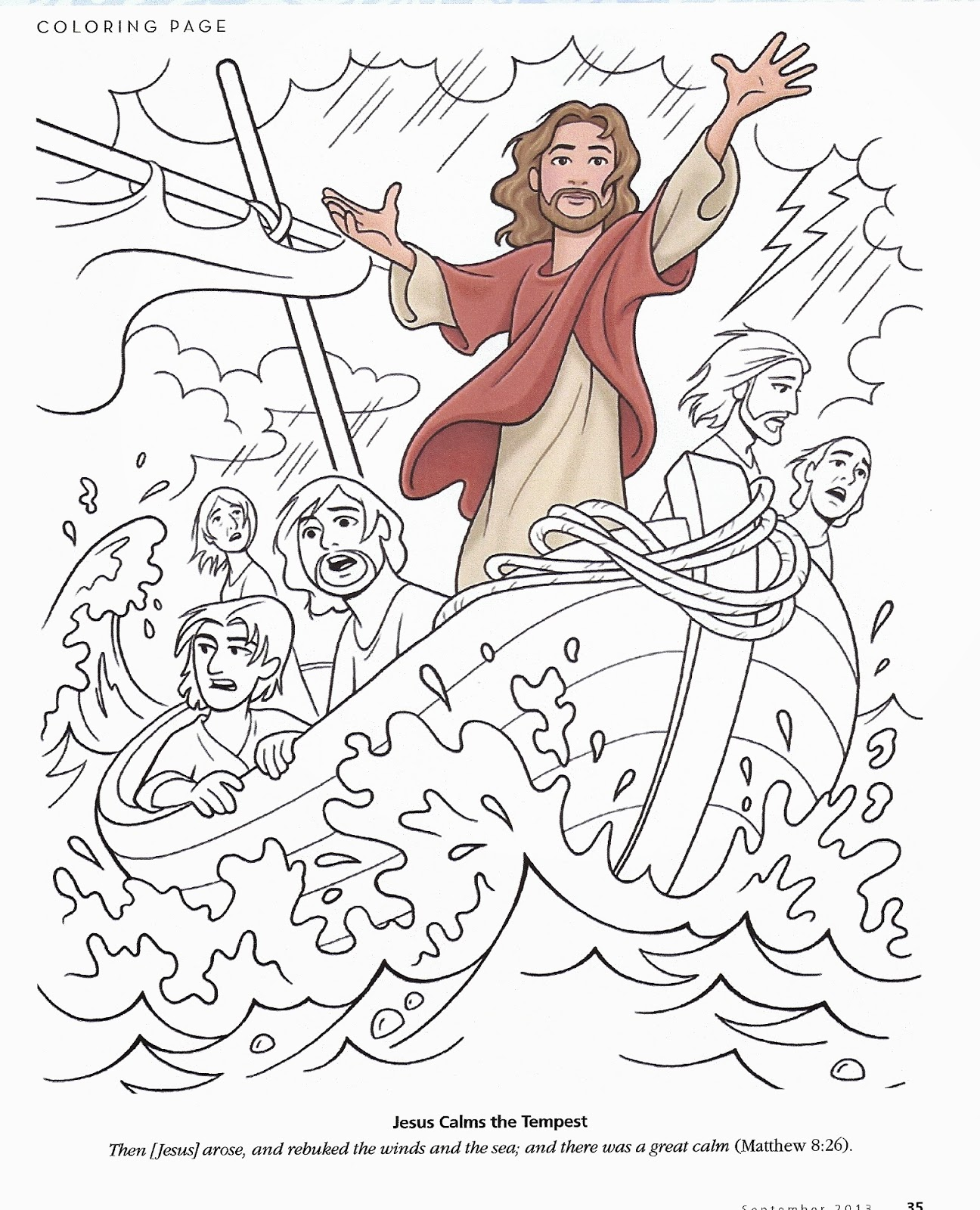coloring pages about jesus - happy clean living primary 2 lesson 17