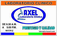 Clinicas medicas Axel Sonsonate, ADN, LABORATORIO CLINICOS