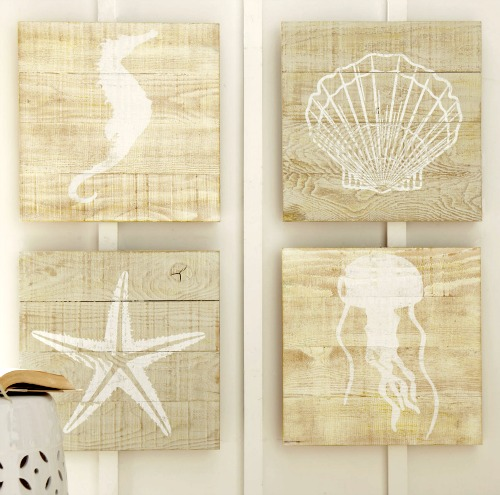 Birch Lane Sea Life Art on Wood
