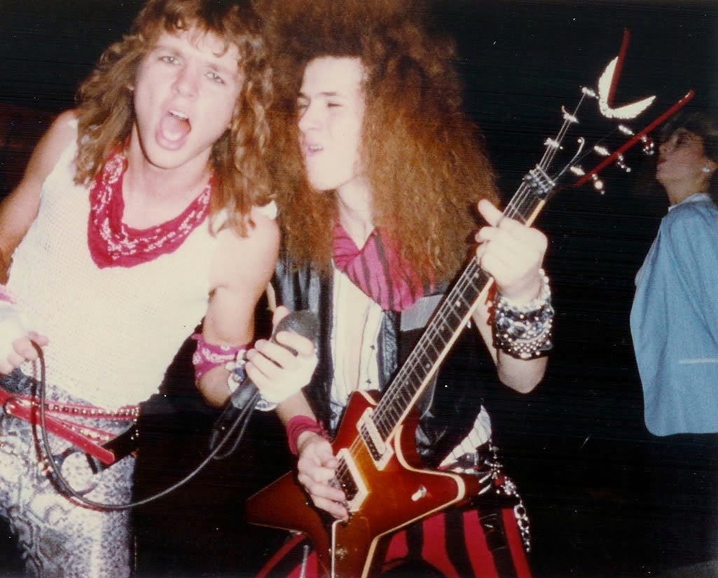 dimebag darrell - pantera - glam - 18 years