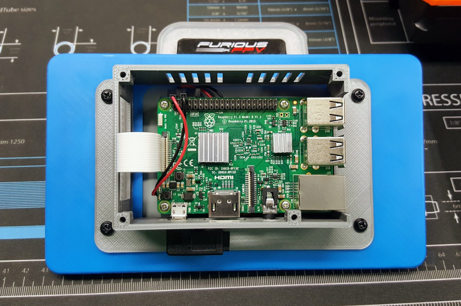 raspberry pi 7 touch screen assembly guide