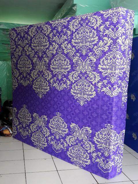 Kasur inoac motif batik pandawa ungu
