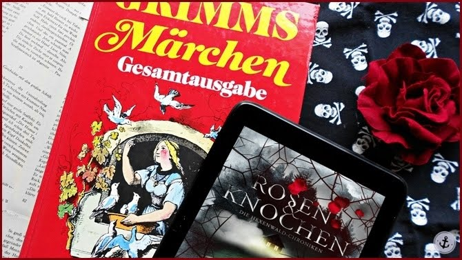 Rezension Rosen & Knochen Christian Handel Die Hexenwald-Chroniken Märchenadaption Hänsel und Gretel Grimms Märchen