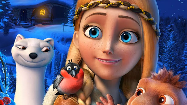 Fotograma de la película: The Snow Queen (2012)