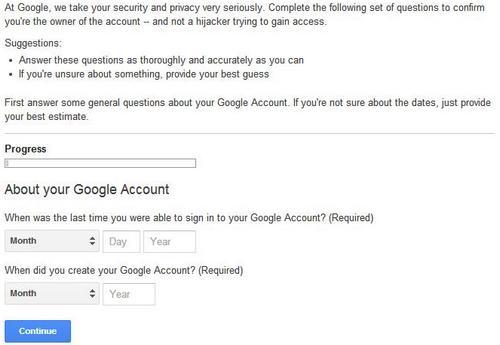 cara reset password gmail
