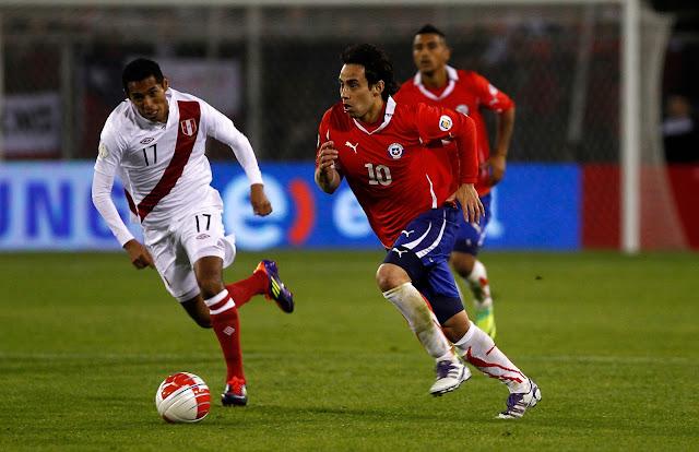 Chile y Perú en Clasificatorias a Brasil 2014, 11 de octubre de 2011