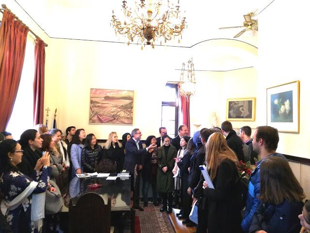 Γιάννενα: Στο Δημαρχείο σπουδαστές απο 27 χώρες