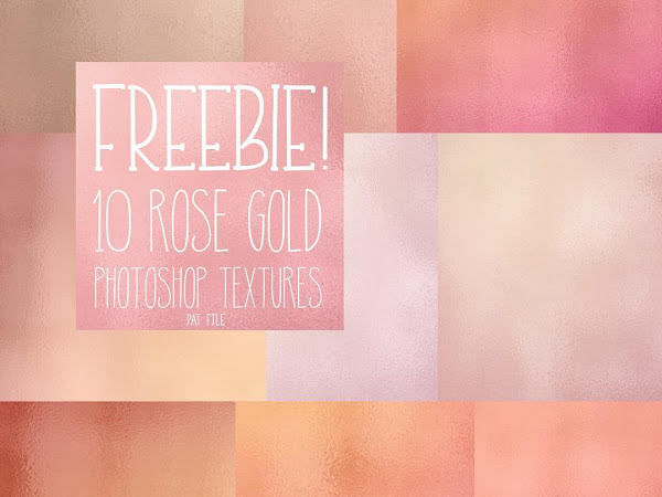 Download 10 Rose Gold Photoshop Texture Free