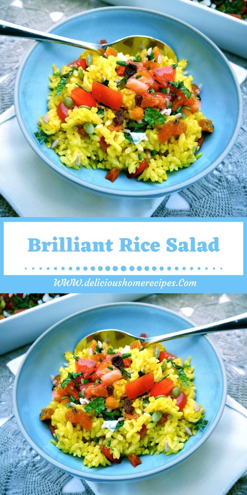 Brilliant Rice Salad