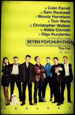 7 psychopatów film recenzja farrell harrelson walken kurylenko