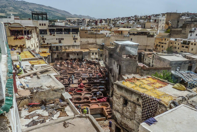 Leather Tannery of Fes