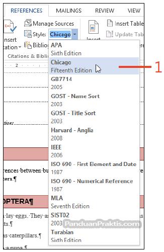 Cara Membuat Kutipan Citation Dan Daftar Pustaka Bibliography Di