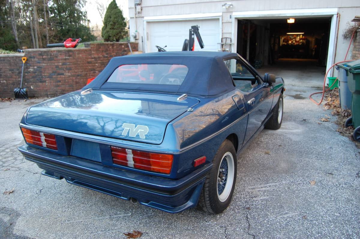 Just A Car Geek: 1985 TVR 280i - A Beautiful Wedge