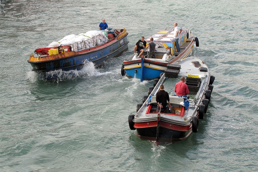 Daily Photo Stream: Delivery Boats