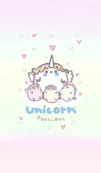 unicorn pook look